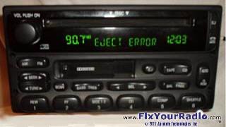 Figure 5 Ford Nissan Mach Radio Display Fix Plus Cd Errors