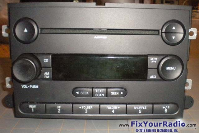 Ford 2007 Radio Blank Display Repair Instructionsrhfixyourradio: Ford Radio Display Not Working At Gmaili.net