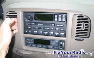 Figure 2 3 Ford Expedition Radio Removal